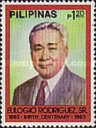 [The 100th Anniversary of the Birth of Eulogio Rodriguez (Former President of Senate), 1883-1964, type EDE2]