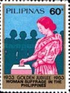 [The 50th Anniversary of Female Suffrage, type EEO2]