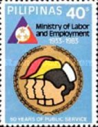 [The 50th Anniversary of Ministry of Labour and Employment, Typ EEP1]