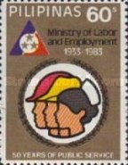 [The 50th Anniversary of Ministry of Labour and Employment, Typ EEP2]