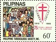 [The 75th Anniversary of Philippine Tuberculosis Society, Typ EJL1]