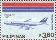 [The 45th Anniversary of Philippine Airlines, Typ EKW]
