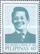 [The 3rd Anniversary of the Death of Benigno S. Aquino, Jr., 1932-1983, Typ ELO]