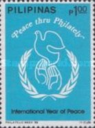 [Philatelic Week and International Peace Year, Typ EME]