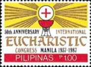 [The 50th Anniversary of International Eucharistic Congress, Manila, Typ ENA]