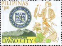 [The 50th Anniversary of Davao City, Typ ENI]
