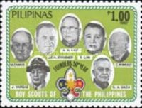 [The 50th Anniversary of Philippines Boy Scouts, Typ EOB]