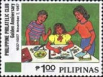 [The 50th Anniversary of Philippine Philatelic Club, Typ EOC]