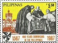 [The 400th Anniversary of Dominican Order in Philippines, Typ EOF]
