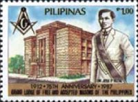 [The 75th Anniversary of Grand Lodge of Philippine Masons, Typ EOR]