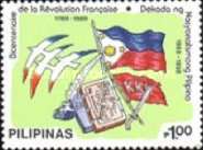 [The 200th Anniversary of French Revolution and Decade of Philippine Nationalism, Typ ESQ1]