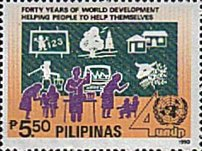 [The 40th Anniversary of United Nations Development Programme, Typ EUD2]