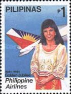 [The 50th Anniversary of Philippine Airlines, Typ EUQ1]