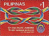 [The 12th Asia-Pacific and 9th National Boy Scouts Jamboree, Typ EVC]