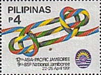 [The 12th Asia-Pacific and 9th National Boy Scouts Jamboree, Typ EVD]