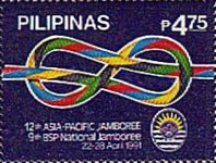 [The 12th Asia-Pacific and 9th National Boy Scouts Jamboree, Typ EVE]