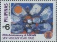 [The 25th Anniversary of Association of Southeast Asian Nations, Visit ASEAN Year, and the 25th Ministerial Meeting and Postal Ministers' Conference, Typ FAT]
