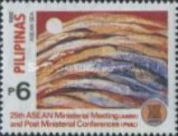 [The 25th Anniversary of Association of Southeast Asian Nations, Visit ASEAN Year, and the 25th Ministerial Meeting and Postal Ministers' Conference, Typ FAU]