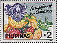 [The 500th Anniversary of Discovery of America by Columbus, Typ FCI]