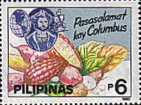 [The 500th Anniversary of Discovery of America by Columbus, Typ FCJ]