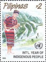 [International Year of Indigenous Peoples - Women in Traditional Costumes, Typ FHG]