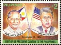 [Visit of United States President William Clinton to Philippines, Typ FLX1]