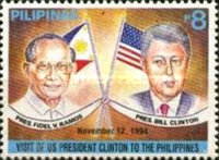 [Visit of United States President William Clinton to Philippines, tip FLX2]