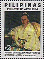 [Philatelic Week - Portraits, Typ FLZ]