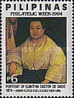 [Philatelic Week - Portraits, tip FMA]