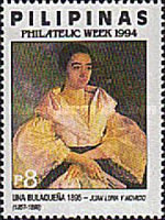 [Philatelic Week - Portraits, tip FMC]