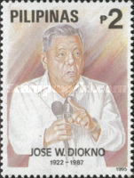 [The 8th Anniversary of the Death of Jose Diokno (Politician), 1922-1987, Typ FNH]