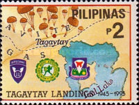 [The 50th Anniversary of Landing of American Troops in Tagaytay and Nasugbu on Luzon, Typ FNR]