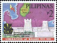 [The 50th Anniversary of Liberation of Baguio, Typ FNT]