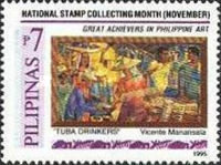 [National Stamp Collecting Month - Paintings by Filipino Artists, Typ FPX]
