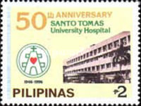 [The 50th Anniversary of Santo Tomas University Hospital, Typ FTE]