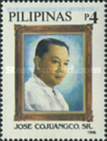 [The 100th Anniversary of the Birth of Jose Cojuangco (Entrepreneur and Corazon Aquino's Father), 1896-1976, Typ FVJ]