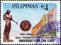 [The 50th Anniversary of University of the East, Manila and Kalookan City, Typ FVV]