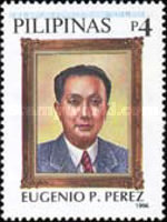 [The 100th Anniversary of the Birth of Eugenio Perez (Politician), 1896-1957, Typ FXF]