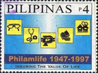 [The 50th Anniversary of Philippine American Life Insurance Company, Typ FZC]