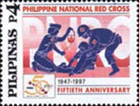 [The 50th Anniversary of Philippine National Red Cross, Typ FZD]