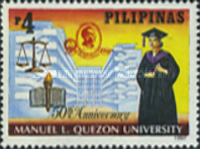 [The 50th Anniversary of Manuel L. Quezon University, Typ GAA]