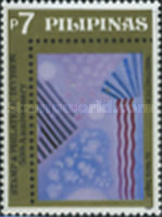 [The 50th Anniversary of Stamp and Philatelic Division - Modern Art, Typ GAH]