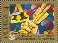 [The 50th Anniversary of Art Association of the Philippines, Typ GBR]