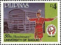 [The 50th Anniversary of University of Baguio, Typ GCK]