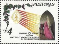 [The 75th Anniversary of Holy Spirit Adoration Sisters in the Philippines, Typ GFD]