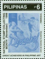 [National Stamp Collecting Month - Film Posters, Typ GGO]