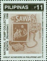 [National Stamp Collecting Month - Film Posters, Typ GGP]