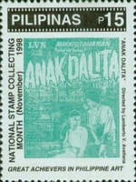 [National Stamp Collecting Month - Film Posters, Typ GGR]
