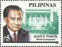 [The 100th Anniversary of the Birth of Juan Nakpil (Architect), 1899-1986, Typ GJM]