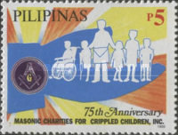 [The 75th Anniversary of Masonic Charities for Handicapped Children, Typ GJS]